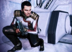 Kaidan's Dress Whites