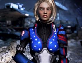 America, Fuck Yeah! Armor